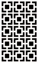 Geometric Pattern Stencils  A4/A5 - Choose a Design