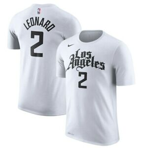 Nike Los Angeles Clippers Kawhi Leonard #2 City Edition Player Name Number Shirt