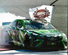 2019 Kyle Busch 200th Win Interstate Batteries NASCAR Signed 8x10 Photo COA #1