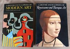 2x Vintage Books of Larousse's Encyclopedias of Art, w/ 100s Illustrations, 1967