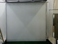 NEW 8x8 Golf Ball Simulator Impact Display Projection White Screen Mat.Game.