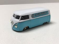 Hot Wheels 100% Oil Can Series Light Blue Volkswagen Micro Bus Sales + Service