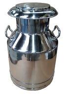 Stainless steel Economy Milk Churn 30 litre