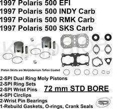 EFI//RMK//SKS 1989-1997 Polaris Indy 500 Wiseco .020 Pistons and Gasket Gasket