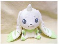 Digimon Adventure I LOVE TERRIERMON Big Plush Doll Stuffed toy 24cm from Japan
