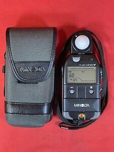 Minolta Flash Meter V Camera Light Meter