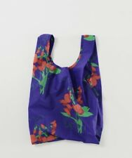 BAGGU BLUE SWEET PEA Baby Size Reusable Bag - NWT - Discontinued Pattern