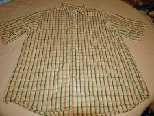 Ecko Unltd. World Famous L cotton short sleeve button up shirt casual EUC @