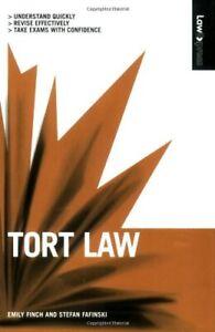 Tort Law (Law Express)-Emily Finch, Stefan Fafinski