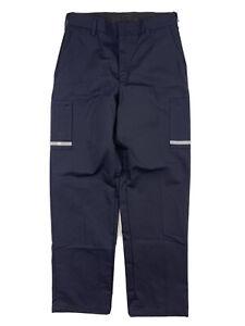 Fedex Uniform Pants VF Imagewear Reflective Stan Herman Mens Size 34x32