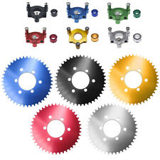 """For 1"""" / 1.5"""" Hub 66cc 80cc Motorized Bicycle 415 Chain Cnc Adapter 44T Sprocket"""