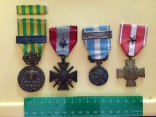 Four (4) More Medals of the French Foreign Legion