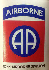 82nd AIRBORNE PARATROOPER  STICKER DECAL
