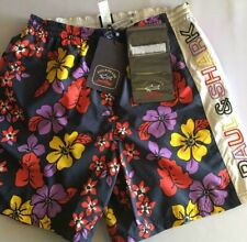 NEW Paul & Shark Swim Swimming Trunks Costume Beach WITH WALLET L