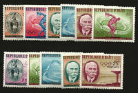 HAITI Yv 447/52 + A 203/7 Olympic Complete Set - MNH