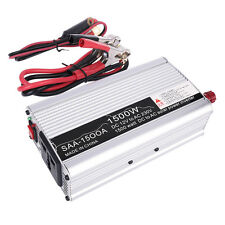 1500W Car Inverter DC 12v To AC 220-240VCharger Converter Modified Sine Wave