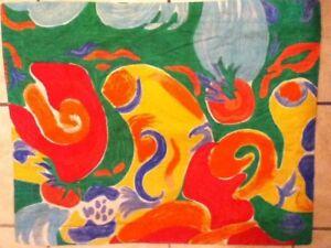 "Ralph Lauren Rare ""Costa Paradiso"" Vibrant Colors Pillow Sham USA"