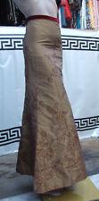 Designer Gianfranco Ferre Simply Sensatiional Long Oriental Evening Skirt UK 6
