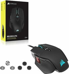 CORSAIR M65 RGB Ultra Tunable FPS Wired Gaming Mouse 26,000DPI
