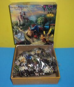 Thomas Kinkade The Disney Dreams Collection Beauty and The Beast 750 Puzzle