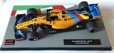 F1 Collection 1:43 McLaren Mcl33 2018 Fernando Alonso Abu D. No Spark Minichamps