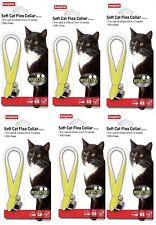A65 Beaphar Cat Kitten Soft Reflective Fluorescent Flea Collar 4 Week Protection