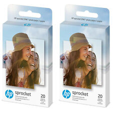 "HP sprocket 40-Sheets 2 x 3"" ZINK STICKY-BACKET PHOTO PAPER for PHOTO PRINTER"