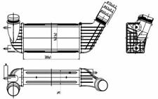 NRF Intercooler pour PEUGEOT 807 EXPERT CITROEN JUMPY C8 FIAT SCUDO 30192