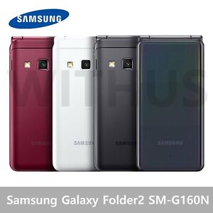 Samsung Galaxy Folder2 32G SM-G160N Unlocked LTE 2021 NEW Red / White / Grey