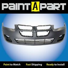 2004 2005 2006 Dodge Stratus Sedan (W/O Fogs) Front Bumper (CH1000407) Painted