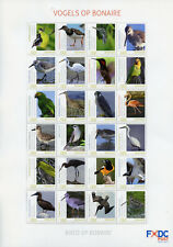 Dutch Caribbean 2018 MNH Birds on Bonaire 24v M/S Parrots Hummingbirds Stamps