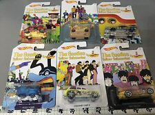 Hot wheels 2016 The Beatles 6 car set In Hand Ready To Ship New Condition!