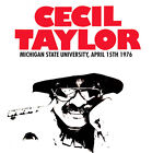 CECIL TAYLOR - Michigan State University, April 15th 1976. New CD + sealed