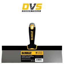 "Dewalt DXTT 2-138 14"" Stainless Steel Taping Spatula With Soft Grip Handle"