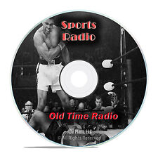 Greatest Boxing Matches, Sports History 254 Old Time Radio Show, OTR mp3 DVD G42