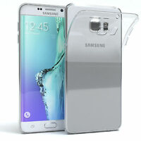 Ultra Slim Cover für Samsung Galaxy S6 Edge Plus Case Silikon Hülle Transparent