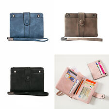 New Trendy Women's Short Style Wallets Vogue Bifold Pocket Coin Purse Money Clip