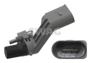 SWAG Crank Angle Sensor 30 93 7093 fits Volkswagen Golf 1.9 TDI Mk5 (77kw), 2...