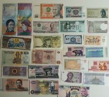 More details for 300 assorted different world banknotes collection