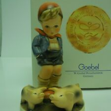 New listing Hummel Farm Boy # 66 Vintage Collectiable Made In Germany