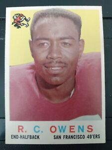 1959 Topps #33 R.C. Owens 49'ers