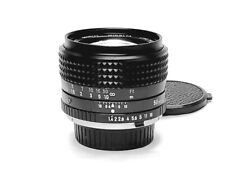 Beautiful Japanese Made Minolta MC Rokkor-X PG 50mm F/1.4 Prime Lens, EX++ Cond.