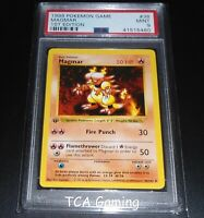 PSA 9 MINT Magmar 36/102 1ST EDITION Base Set SHADOWLESS Pokemon Card