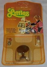 Mattel The Littles Doll Accessory Set - Tilt Top Table, Lamp, & Plant
