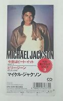 "Michael Jackson ""Beat It / Billie Jean"" Japan 3"" inch CD Single Rare"