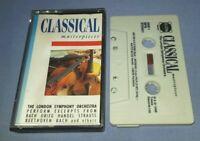 LONDON SYMPHONY ORCHESTRA CLASSICAL MASTERPIECES cassette tape album T7965