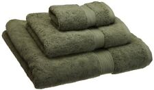 Superior 900 Gram Egyptian Cotton 3-Piece Towel Set, Forest Green, New, Free Shi