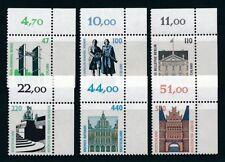 Postfrische Briefmarken aus der BRD (1990-1999) mit Bauwerks-Motiv als Satz