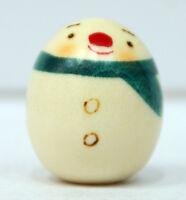 Usaburo Kokeshi Japanese Wooden Doll 132-1 Yuki Daruma (Snowman)
