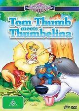 Enchanted Tales - Tom Thumb Meets Thumbelina (DVD, 2006)-FREE POSTAGE